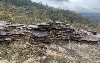 Weathering patters sandstone